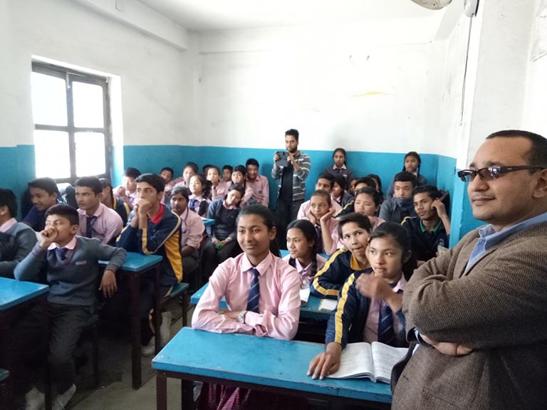 Image 6 - Computer Training Program- An Initiative to Groom Young Minds of Nepal
