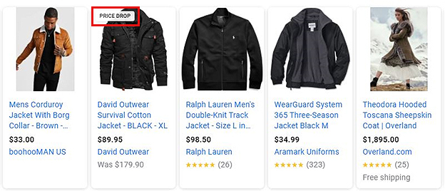 Price Drop - Google Shopping Ad Extensions & Annotations